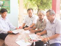 Già làng Bá Kiêu làm dân vận khéo