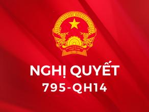 Nghị quyết 795 QH14 về nâng cao hiệu quả thực hiện chương trình giảm nghèo