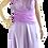 Thumbnail: Vestido longo tomara que caia lilás