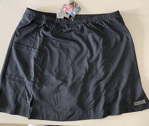 Saia-shorts esportiva feminina