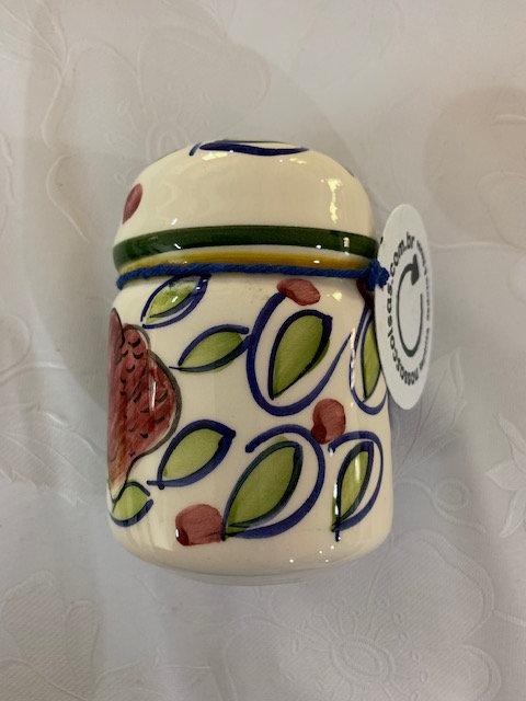 Saleiro em porcelana
