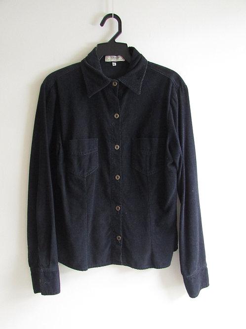 Camisa manga longa veludo