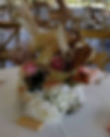 Just a wee close up of our centrepieces