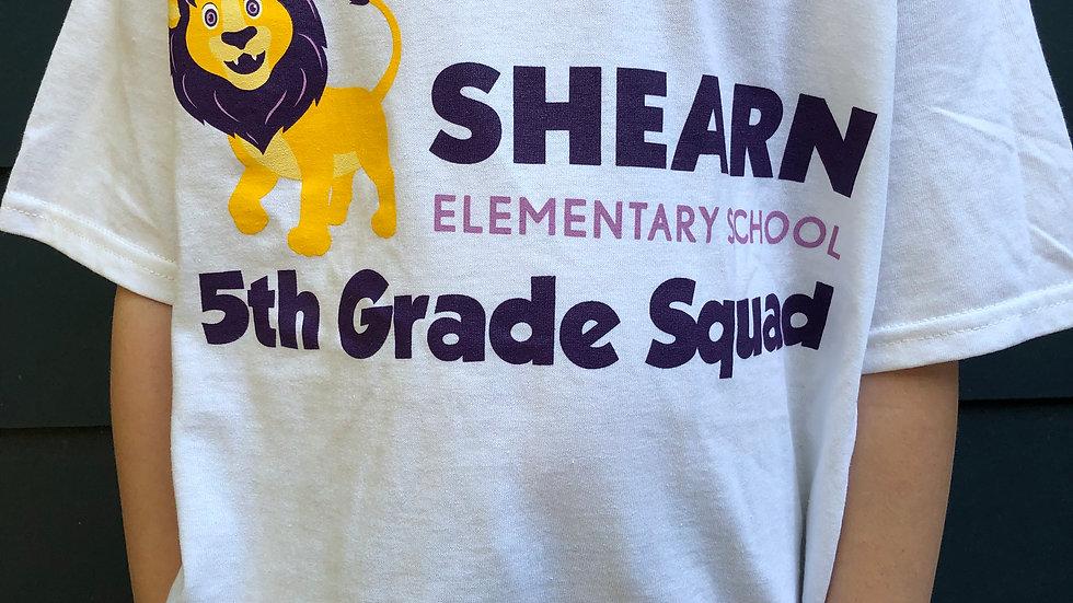 5th Grade T-Shirt / Camiseta de 5th Grado