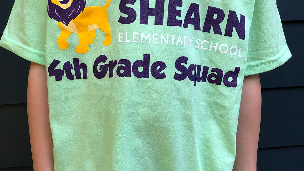 4th Grade T-Shirt / Camiseta de 4th Grado