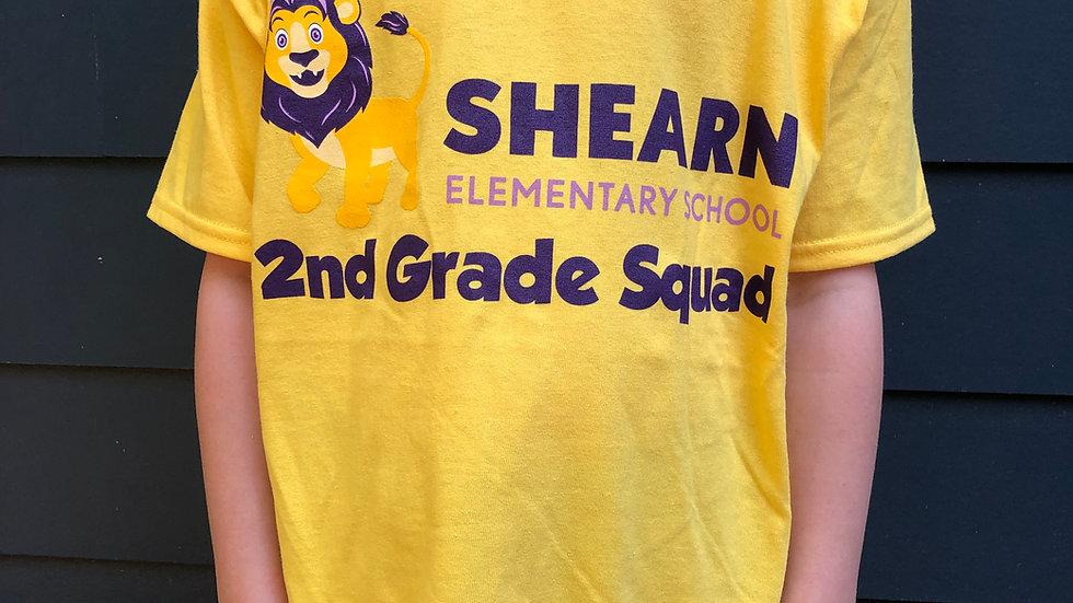 2nd Grade T-shirt / Camiseta de 2nd Grado