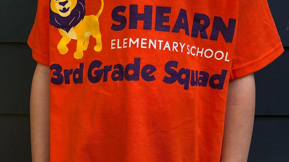 3rd Grade T-shirt / Camiseta de 3rd Grado