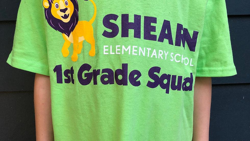 1st Grade T-shirt / Camiseta de 1st grado