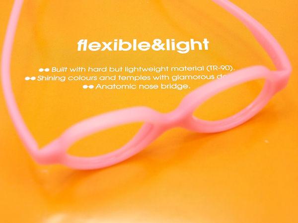 flexible & light baby eyewear