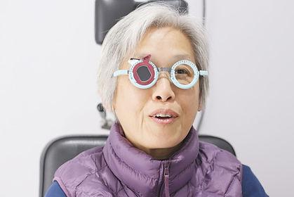 Old woman doing eye test .jpg
