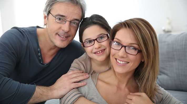 Portrait of family of 3 people wearing eyeglasses.jpg