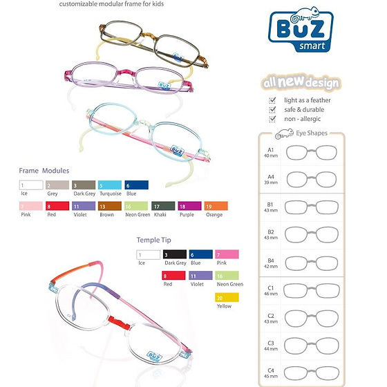 Buz smart - modular kid eyewear