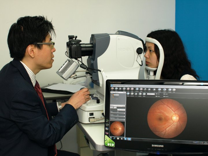 Fundus photo