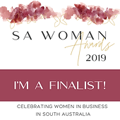 Rockit Performing Arts SA Woman Awards - Finalist Graphic 2019.