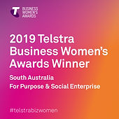 Noni Vassos Telstra Business Womens Awards Rockit Performing Arts
