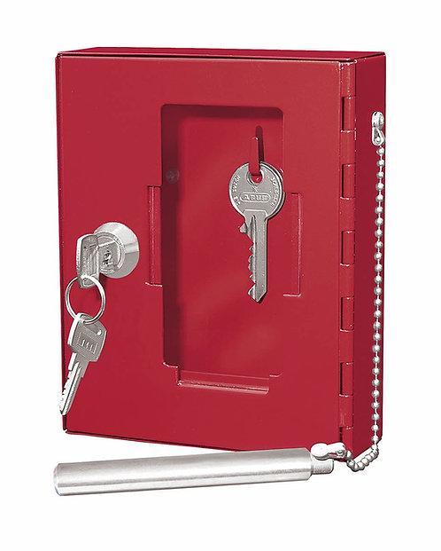 Lockable break glass Key box