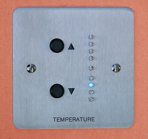 Sensor / Setpoint with LED indication (Anti ligature)