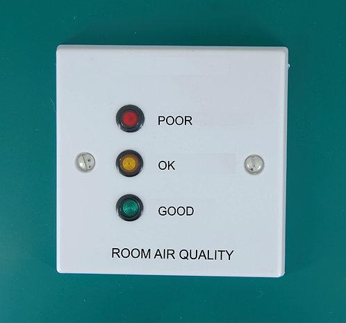 CO2 / Air quality Traffic light Indicator