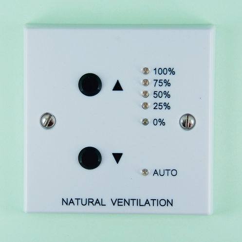 Natural Ventilation / Window Override 0 - 10Vdc