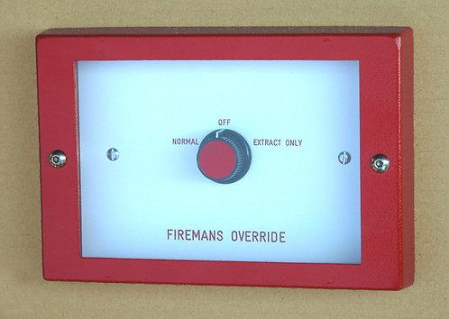 Firemans Break glass switch