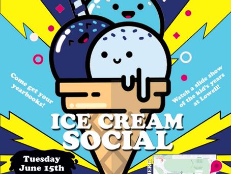 5th Grade Ice Cream Social June 15th (7-9pm)