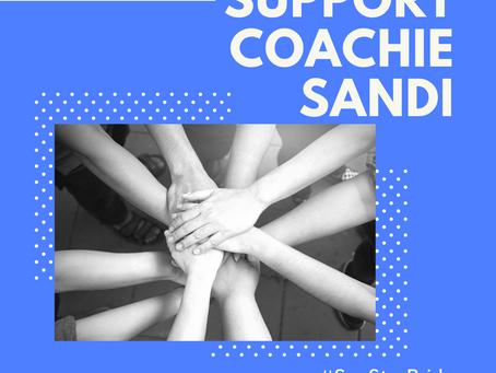 Support Coachie Sandi