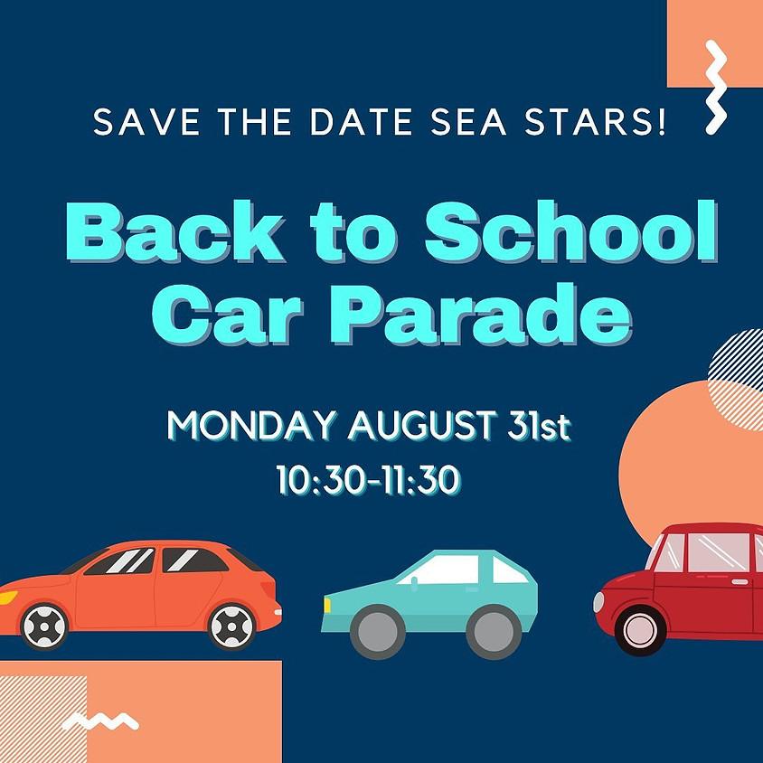 Back to School Car Parade