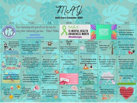 May Self-Care Calendar