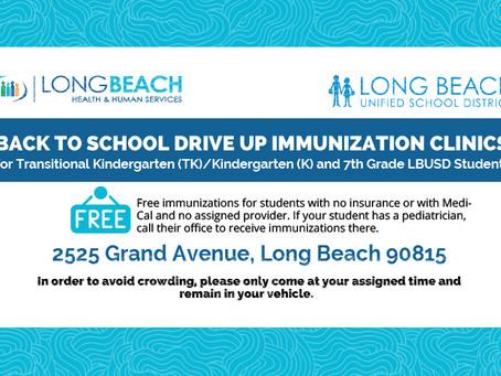 Free Immunization Clinics for Children