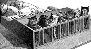 the start of Pussy Sublimity and the inception of the single-note katzenklavier