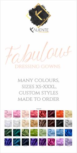 Satin Colour Choices