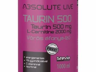 A taurin meghosszabbítja az életet!