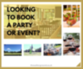 Function Room Hire - Website (February 2