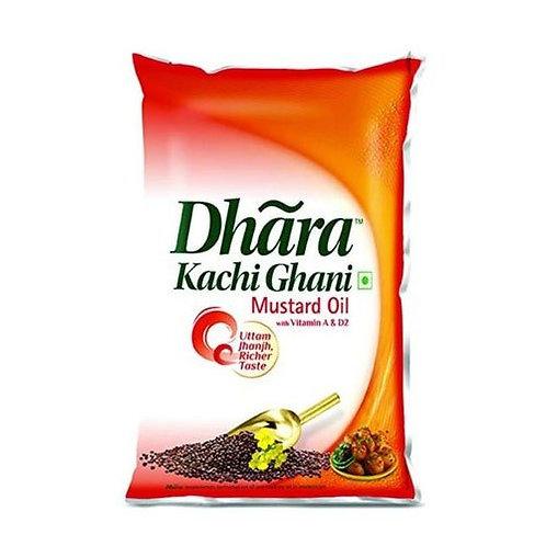Dhara Kachi Ghani (1 liter)