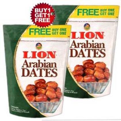 lionn dates(500g) +500g free