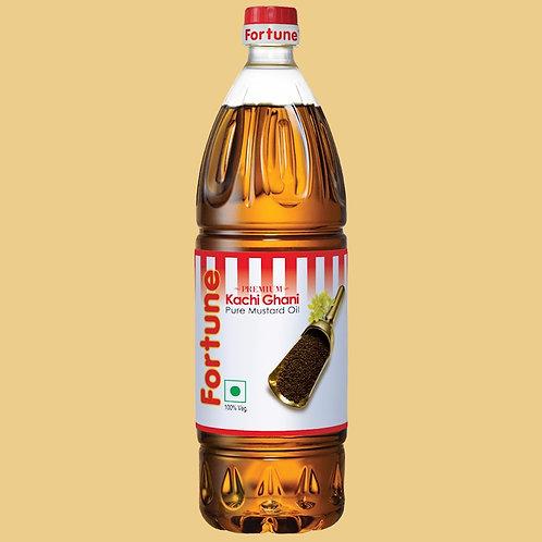 Fortune kachi ghani pure mustard oil, (1ltr)