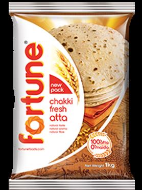Fortune Chakki Fresh Atta ( 1 kg)