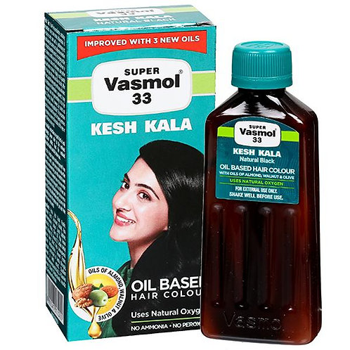 super vasmol 33 kesh kala(100ml)