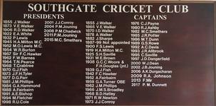 Southgate Cricket Club Honours