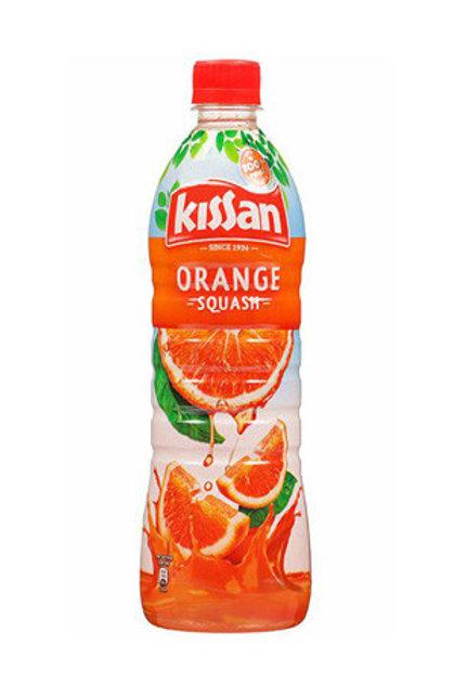 kissan orange squash (750ml)