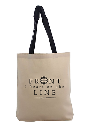 7 Years on the Front Line Signature Tote Bag