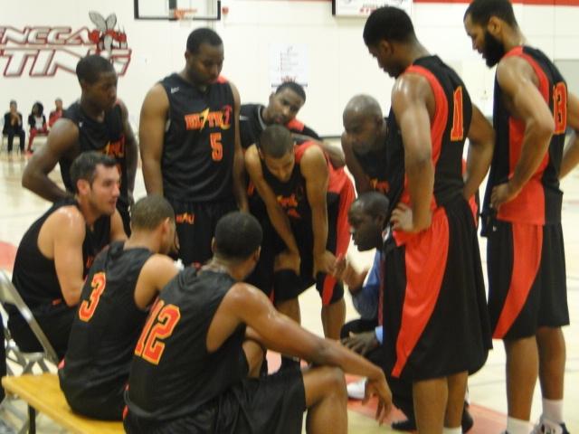 Black Team Huddle
