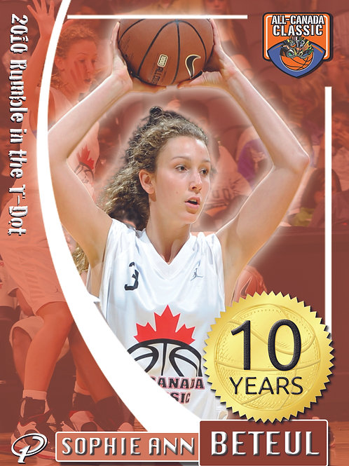 2010 All Canada Classic - Rumble in the T-Dot (Girls White Team)
