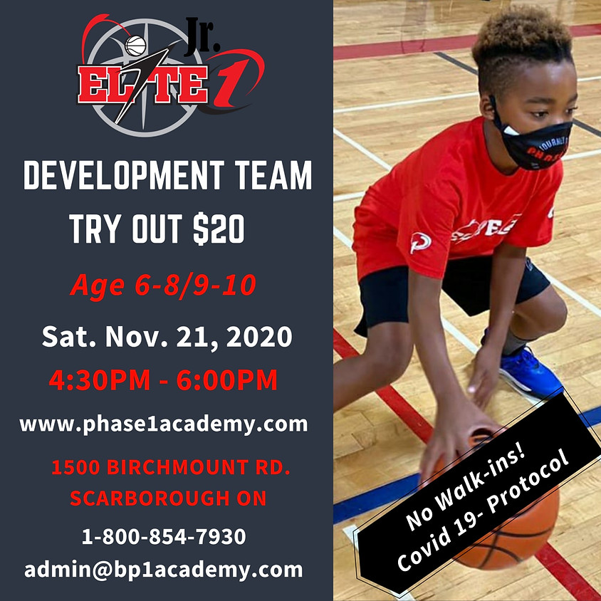 Development Team Try-outs