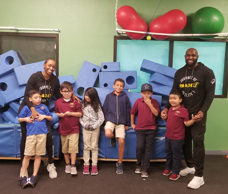 P.H.A.S.E. 1 Autism Fitness: Gym Set Up for Success