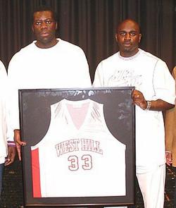 Denham Brown - 2004 Jersey Retired