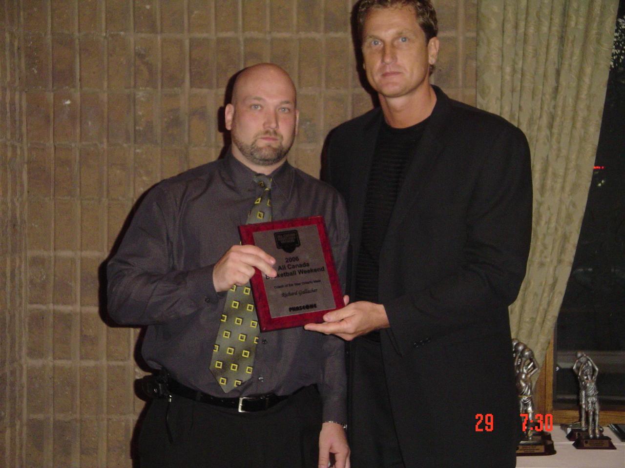 Richard Gallagher - 2006 Coach Year