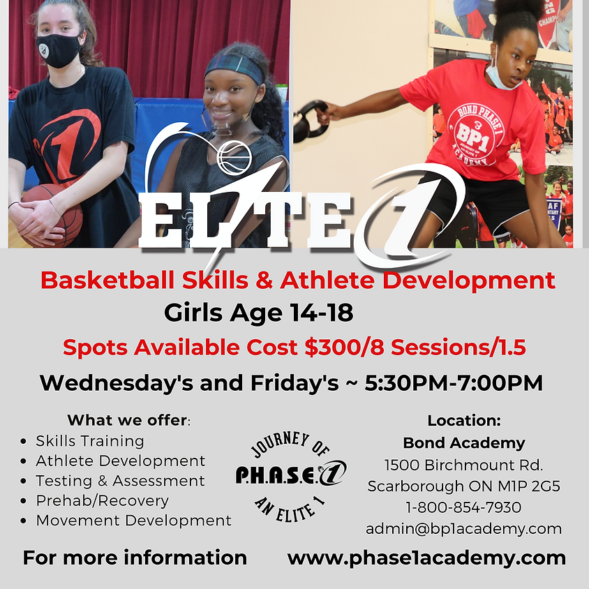 Girls Basketball and Skill Development Training