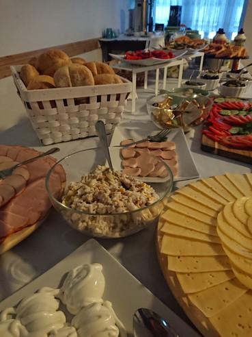 śniadanie - szwedzki stół