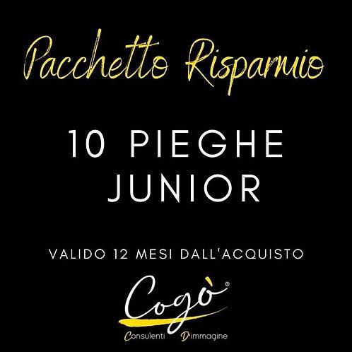 Pacchetto 10 pieghe Junior